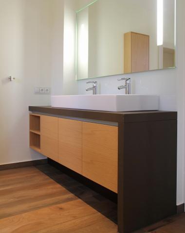 Waschtischunterschränke nach Maß - Hermjo Wolf Möbelwerstätten
